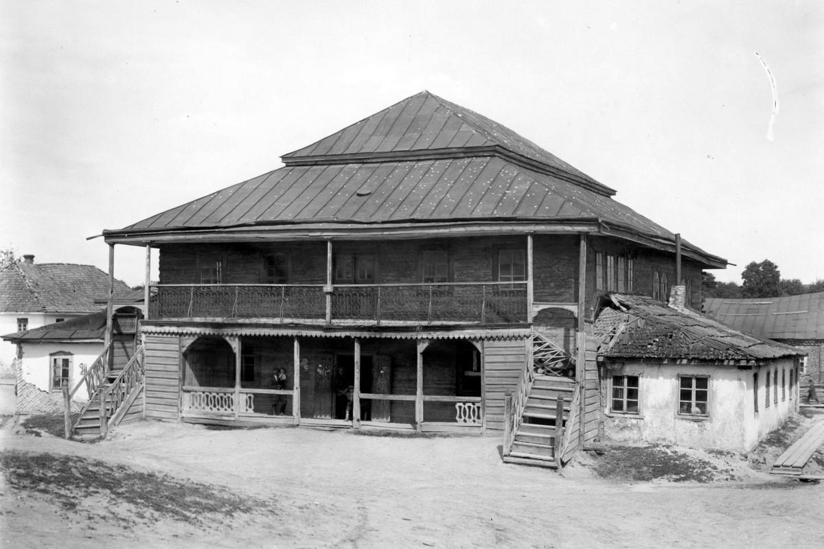 Олика. Синагога. Фото Генрика Поддембського, 1925 р.